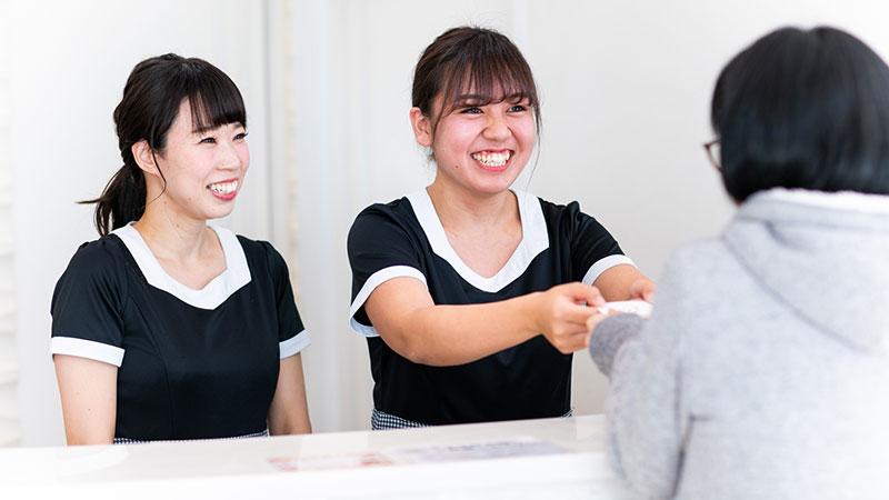 行動指針1 笑顔を意識する