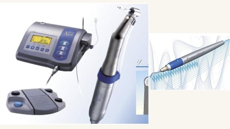高度な治療を可能にする精密機械達