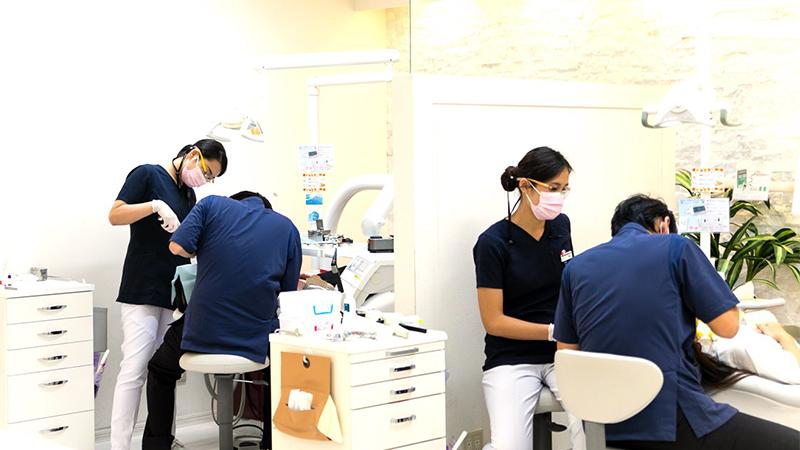 レントゲン撮影・虫歯治療・歯周病治療