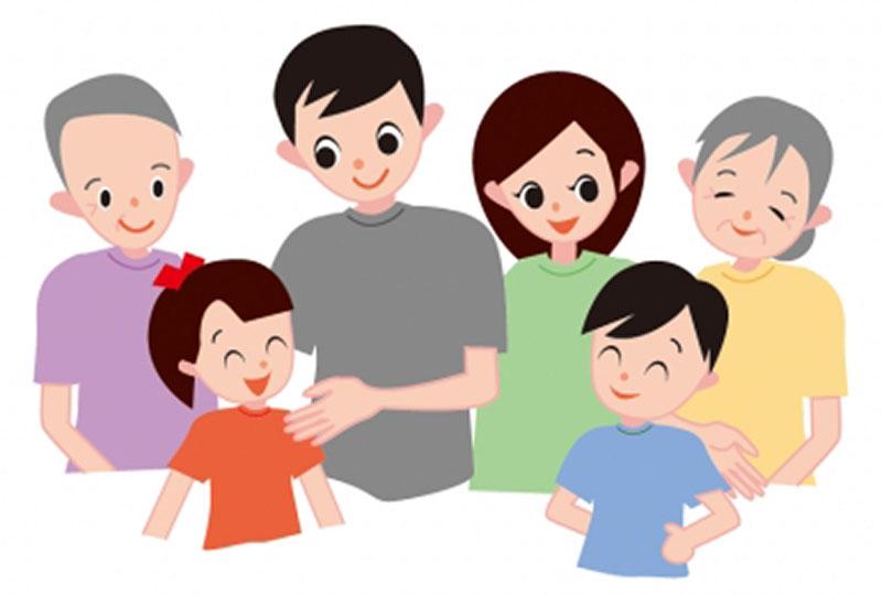 家族イメージ図